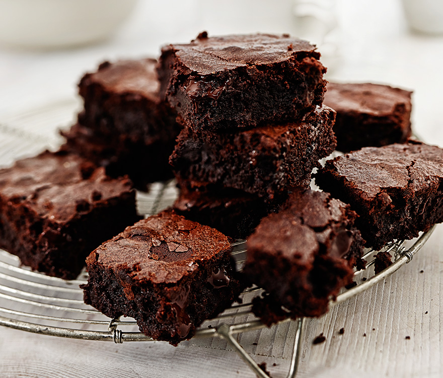 Cake Brownies With Cocoa Powder